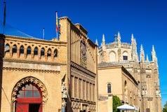Monastery of San Juan de los Reyes in Toledo. Spain Royalty Free Stock Photos