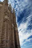 Monastery of San Juan de los Reyes in Toledo in Spain Stock Image