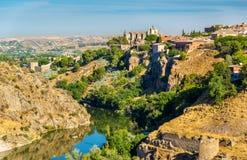 The Monastery of San Juan de los Reyes in Toledo - Spain Stock Photography