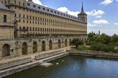 Monastery of San Lorenzo del Escorial. Madrid. Spain Stock Images