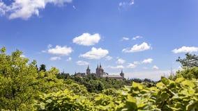 Monastery of San Lorenzo del Escorial. Madrid. Spain Royalty Free Stock Images