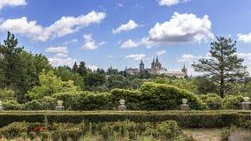 Monastery of San Lorenzo del Escorial. Madrid. Spain Stock Photo