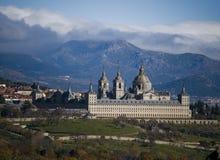 Monastery San Lorenzo El Escorial. Madrid, Spain royalty free stock image