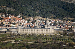 Monastery San Lorenzo El Escorial. Madrid, Spain Stock Photography