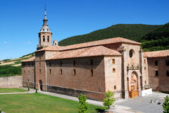 Monastery San Millan de Yuso Royalty Free Stock Image