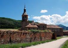 Monastery San Millan de Yuso Stock Image