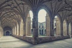 Monastery of  San Millan de Yuso in La Rioja,Spain Royalty Free Stock Images