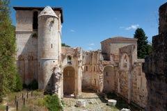 Monastery of San Pedro de Arlanza Stock Photos