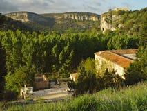 The monastery of San Pedro de Arlanza, San Pelayo Royalty Free Stock Images