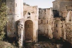 The monastery of San Pedro de Arlanza, spain Royalty Free Stock Photography