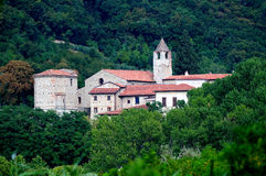 The monastery of San Pietro in Lamosa,Italy Royalty Free Stock Images