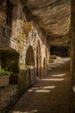 The monastery of Sant Miquel del Fai Royalty Free Stock Image