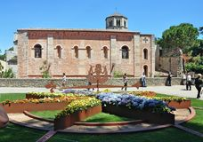 Monastery of Sant Pere de Galligants Royalty Free Stock Photo