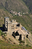 Monastery of sant pere de rodes Royalty Free Stock Photos