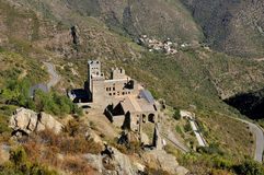 Monastery of Sant Pere de Rodes Royalty Free Stock Photography
