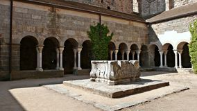 Monastery of Sant Pere de Rodes-Gerona Stock Image