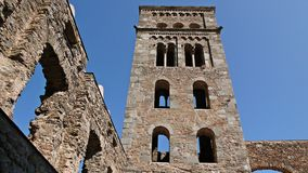 Monastery of Sant Pere de Rodes-Gerona Royalty Free Stock Image