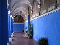 Monastery santa catalina. Monastery Santa Catalina in Arequipa, Peru, photographed in oct. 2006 Stock Images