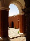Monastery Santa Catalina (Arequipa, Peru) Stock Photos