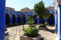 Monastery Santa Catalina in Arequipa Stock Image