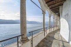 Monastery of Santa Caterina in Varese, Italy. Monastery of Santa Caterina, by Lake Maggiore, Italy royalty free stock image