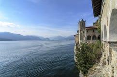 Monastery of Santa Caterina in Varese, Italy. Monastery of Santa Caterina, by Lake Maggiore, Italy stock image