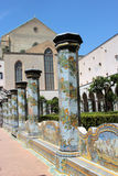 The monastery of Santa Chiara, Naples Stock Images