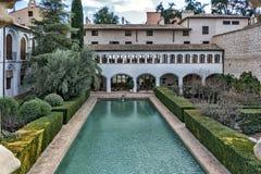 The Monastery of Santa Clara la Real royalty free stock image