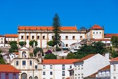 Monastery of Santa Clara-a-Nova Stock Images