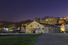 Monastery of Santa Clara Velha stock images