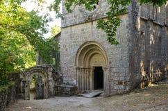 Monastery of Santa Cristina de Ribas de Sil. Galicia Stock Image