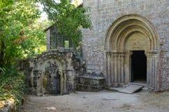 Monastery of Santa Cristina de Ribas de Sil. Galicia Stock Photography