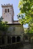 Monastery of Santa Cristina de Ribas de Sil Stock Photos