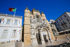 Monastery of Santa Cruz (Coimbra) Stock Photography