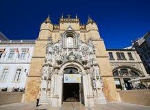 Monastery of Santa Cruz (Coimbra) Stock Photo