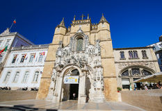 Monastery of Santa Cruz (Coimbra) Royalty Free Stock Photos