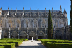 Monastery of Santa Maria da Vitoria Batalha Centro region Portug Stock Photo