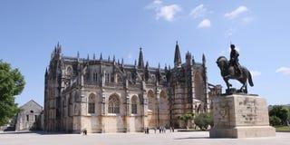 Monastery of Santa Maria da Vitoria in Batalha Stock Images