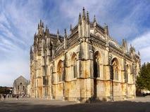Monastery Santa Maria Da Vitoria, Batalha Portugal Stock Photography