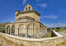 Monastery of Santa Maria de Eunate Royalty Free Stock Photography