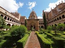 The monastery of Santa Maria de Guadalupe Stock Photography