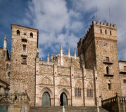 Monastery of Santa Maria de Guadalupe. Caceres Stock Images