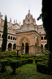 Monastery Santa Maria de Guadalupe. Caceres, Spain Royalty Free Stock Photography