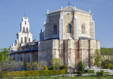 Monastery of Santa Maria de la Vid Stock Photo