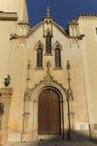 Monastery of Santa Maria de Poblet. Located in the region Conca de Barbera. Tarragona Stock Photo