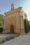 Monastery of Santa Maria de Poblet. Located in the region Conca de Barbera. Tarragona Stock Photography