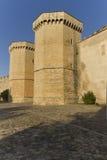 Monastery of Santa Maria de Poblet. Located in the region Conca de Barbera. Tarragona Royalty Free Stock Photos