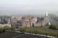 Monastery of Santa Maria de Poblet Royalty Free Stock Photos