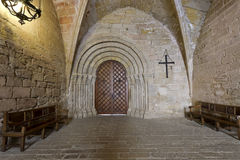 Monastery of Santa Maria de Poblet actual input. Monastery of Santa Maria de Poblet, Catalonia, Spain actual input Stock Photography