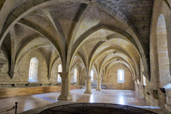 Monastery of Santa Maria de Poblet basement vault Stock Photography